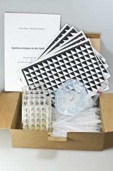 Schülerübungs - Set zur Tüpfelanalyse (Tüpfel-Set)